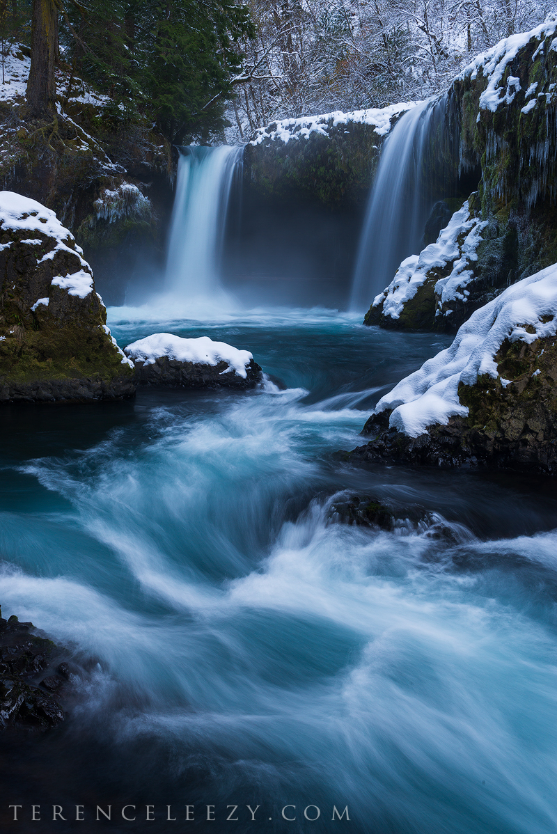 November - Spirit Falls, Washington