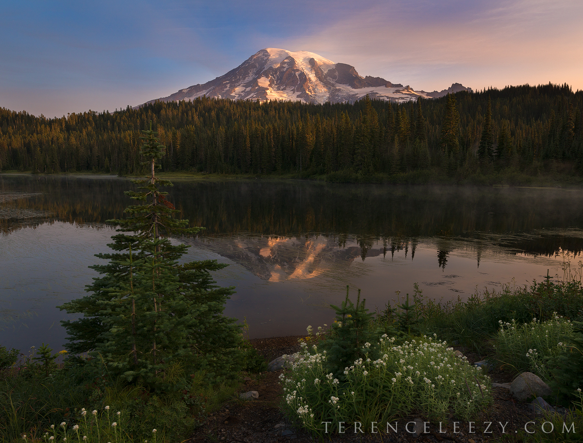 August - Mount Rainier, Washington