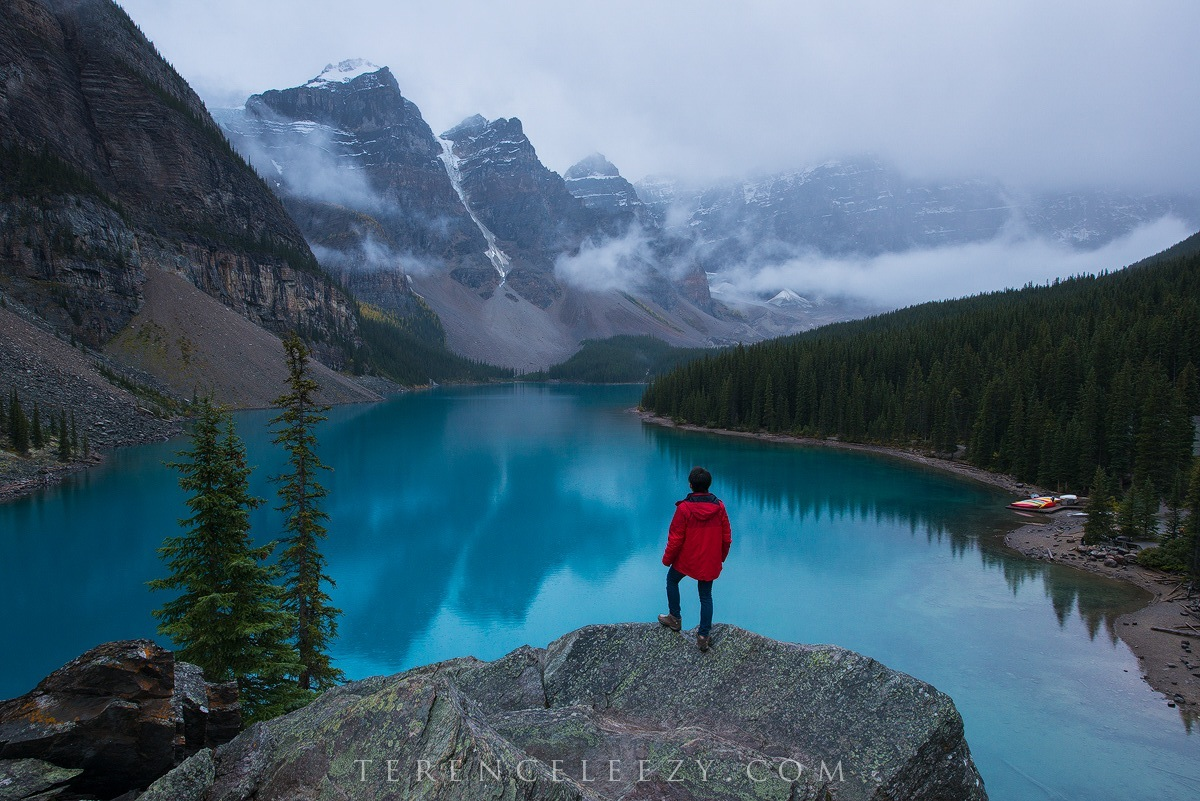 September - Moraine Lake, Alberta, Canada