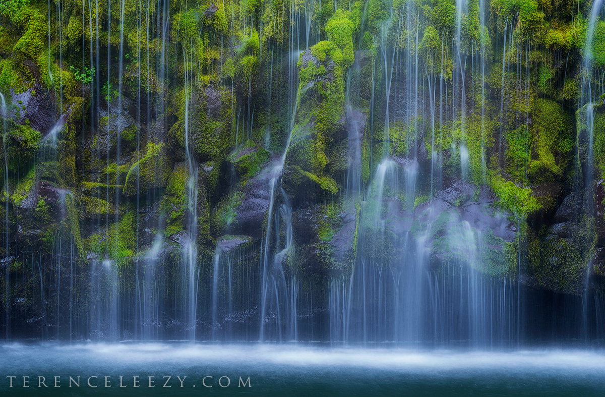 June - Mossbrae Falls, California.