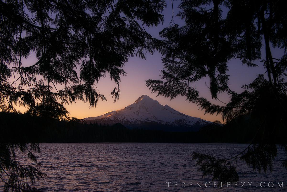 February - Lost Lake, Oregon