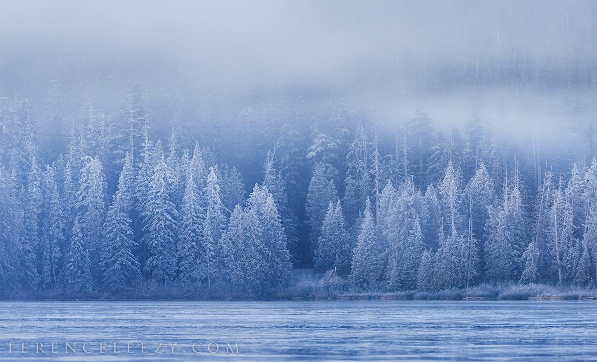 January -Lost Lake, Oregon