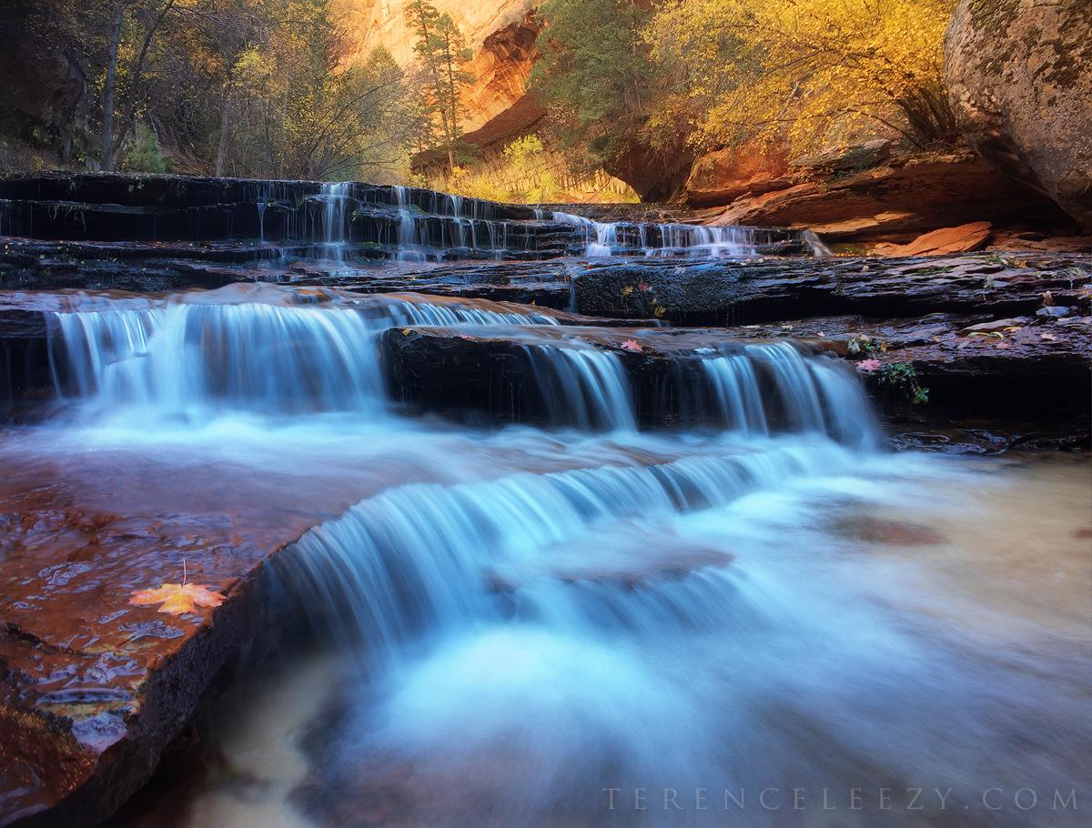 November - #ShotoniPhone6 Archangel Falls,Zion National Park, Utah