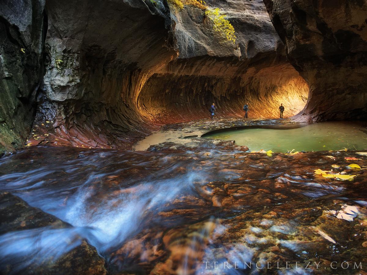 November - #ShotoniPhone6 The Subway, Zion National Park, Utah
