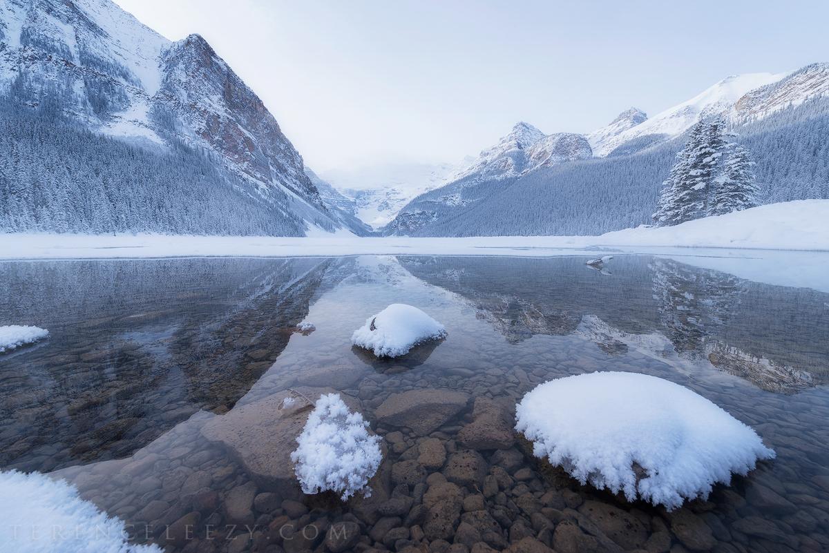 January - Lake Louise, Banff, Canada