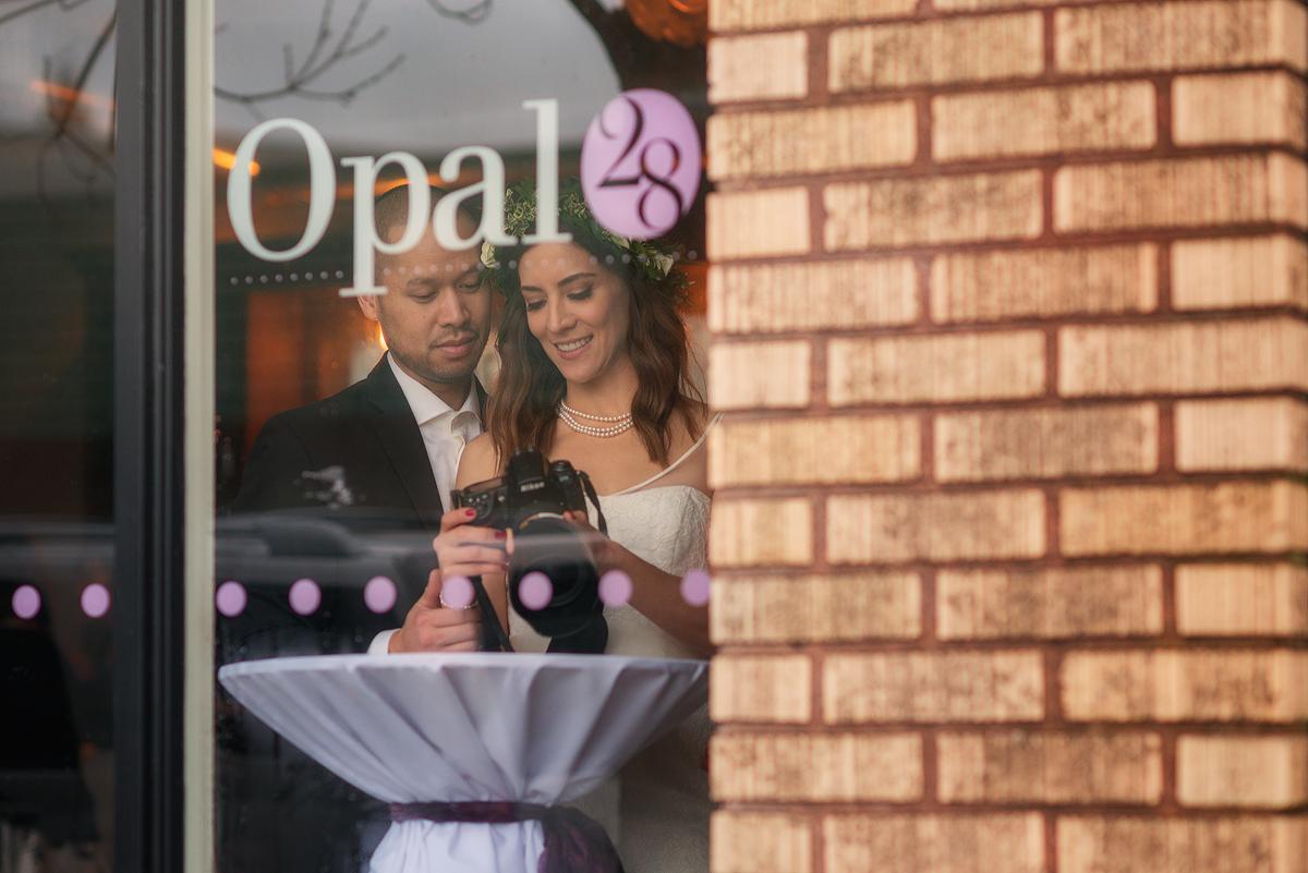 Tula and Ashley's wedding at Opal 28, Oregon