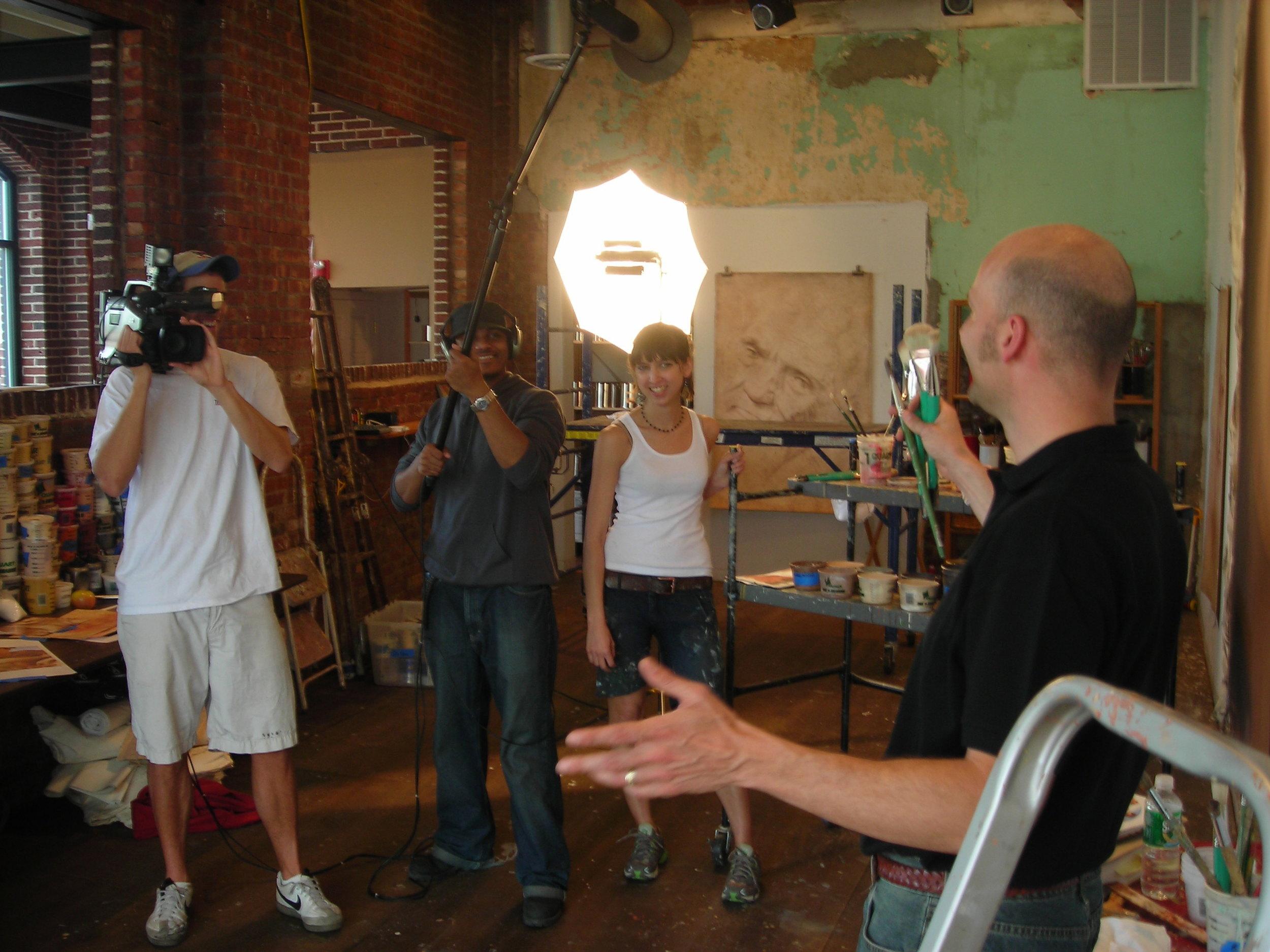 Art interview New Jersey