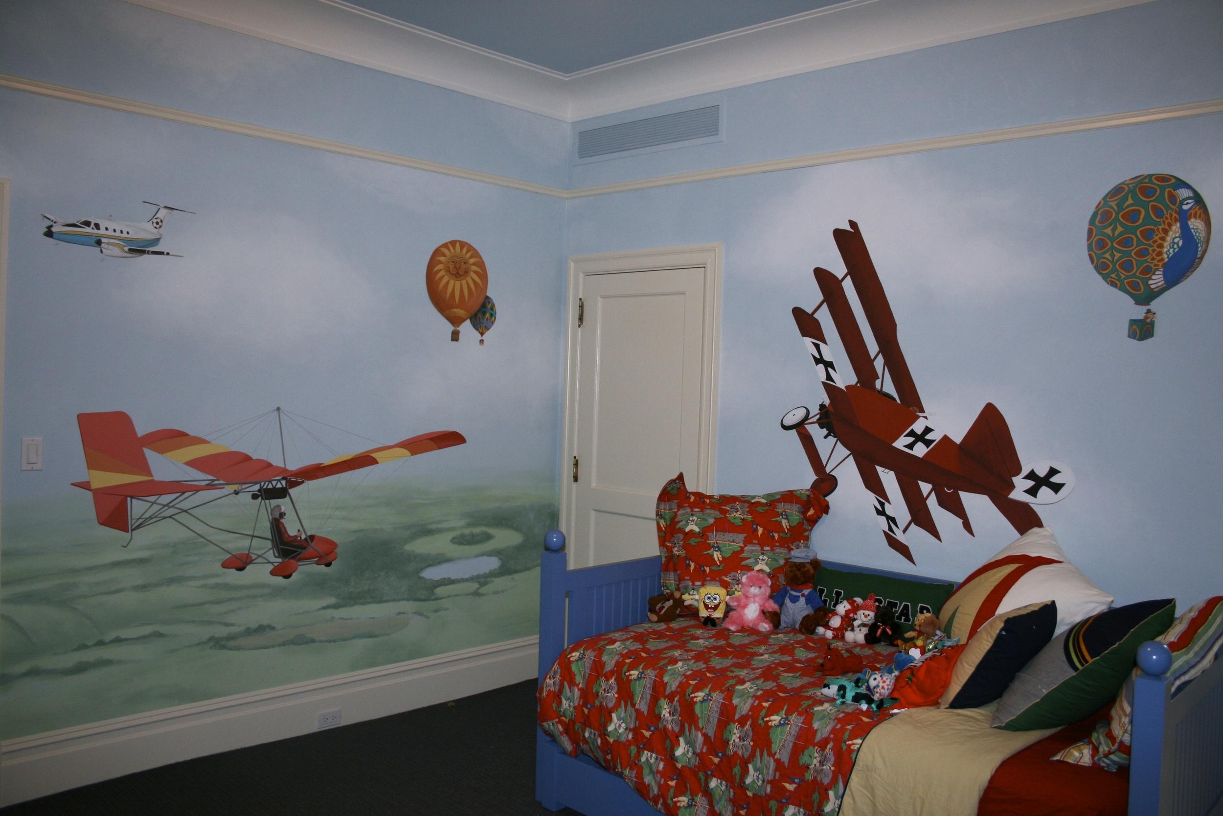 Airplane Mural