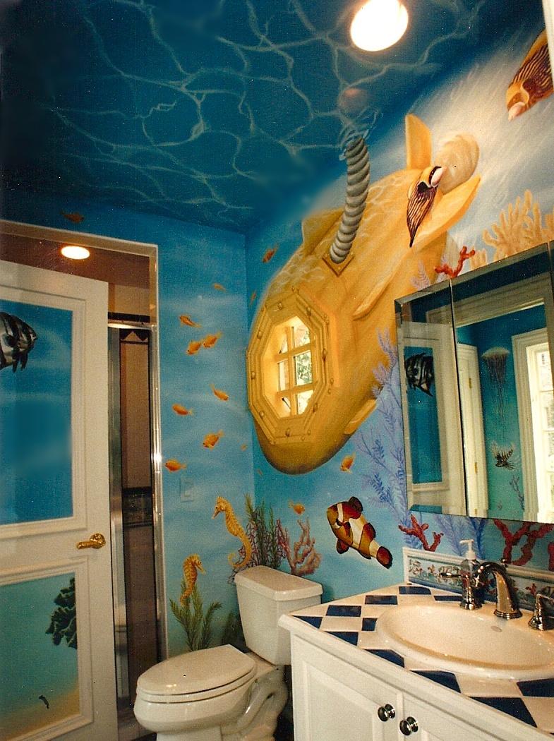 Yellow Submarine Wall Mural