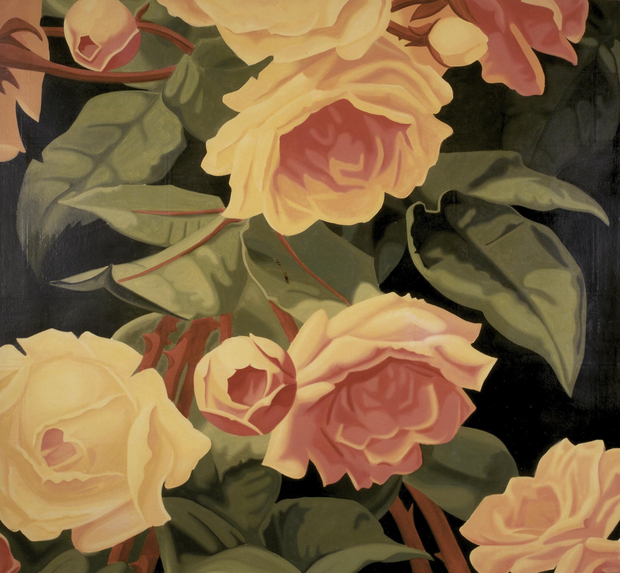 Rose Flower Wall Mural