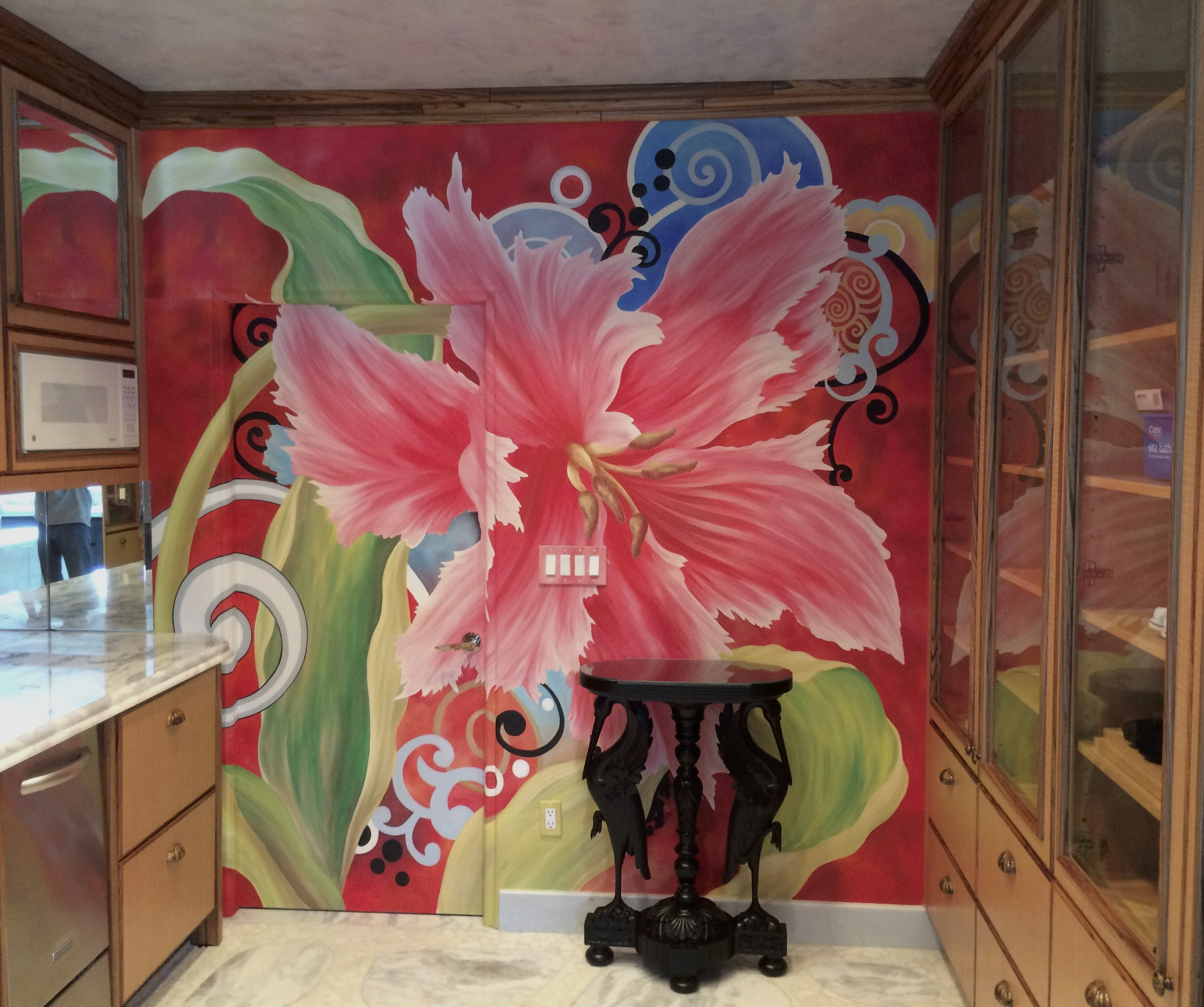 Tulip Kitchen Mural