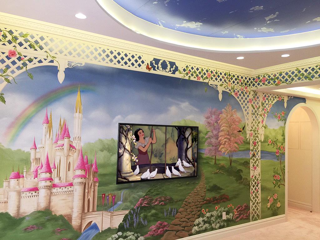 Princess Castle Kids Bedroom