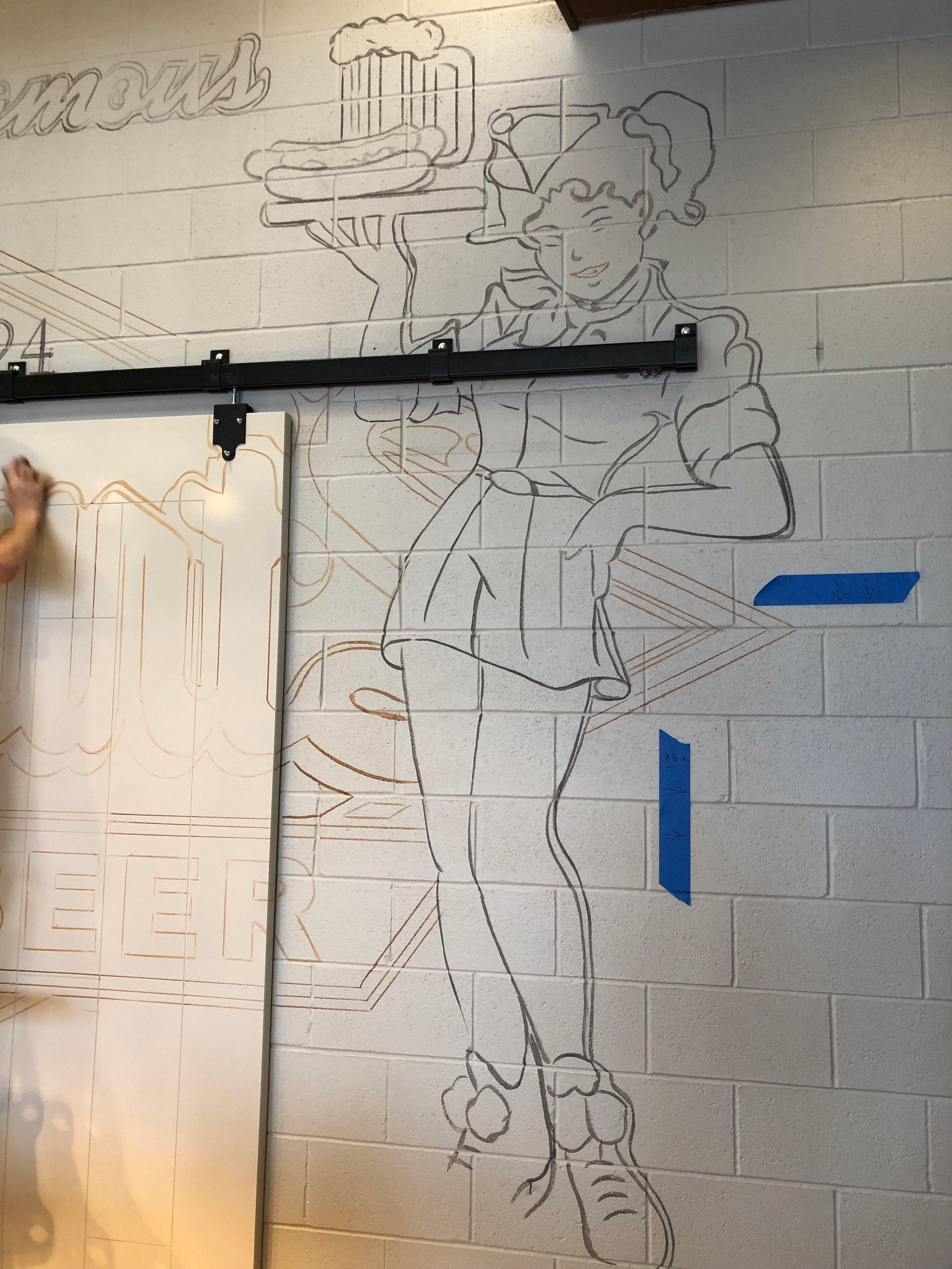 Stewarts Root Beer Wall Mural