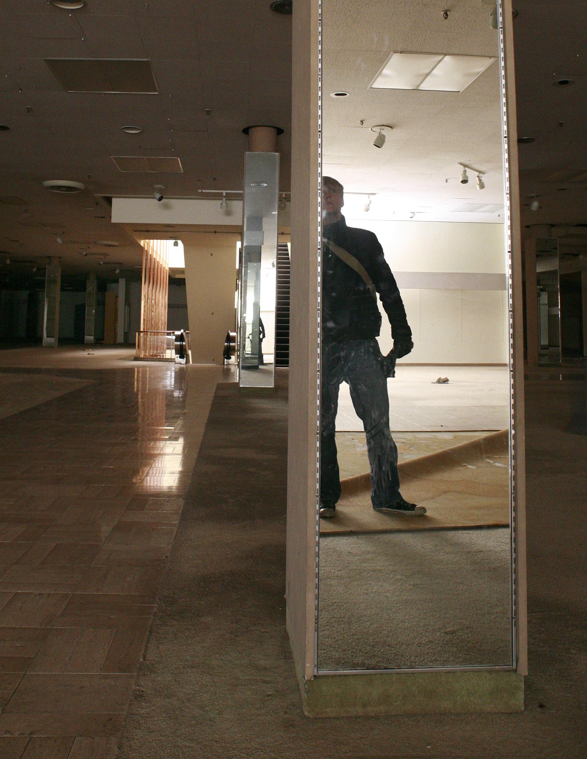 Self Portrait during Urban Exploration