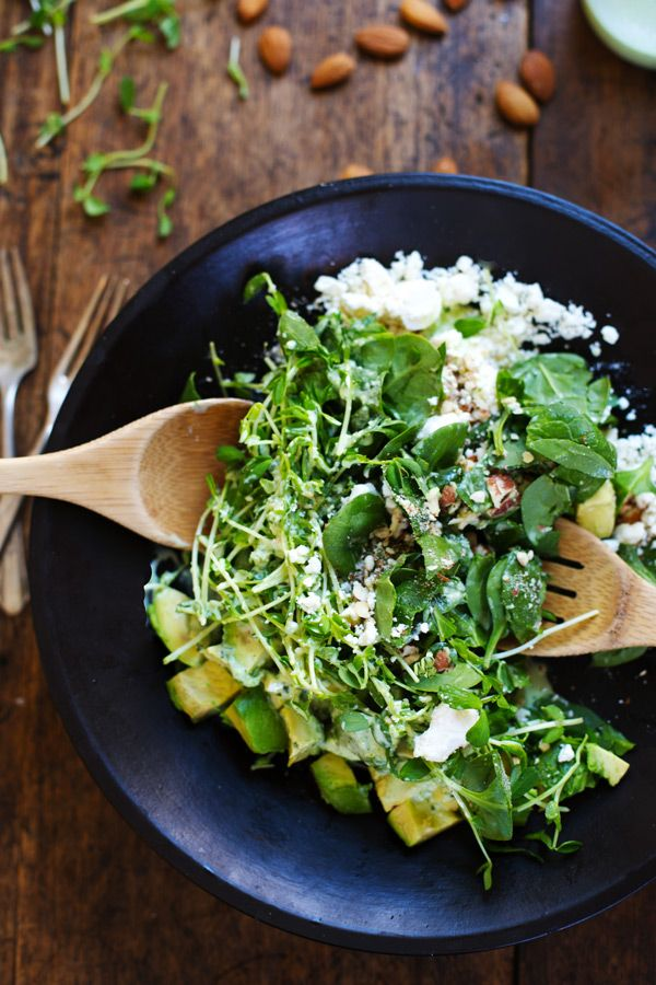 Green Goddess Detox Salad