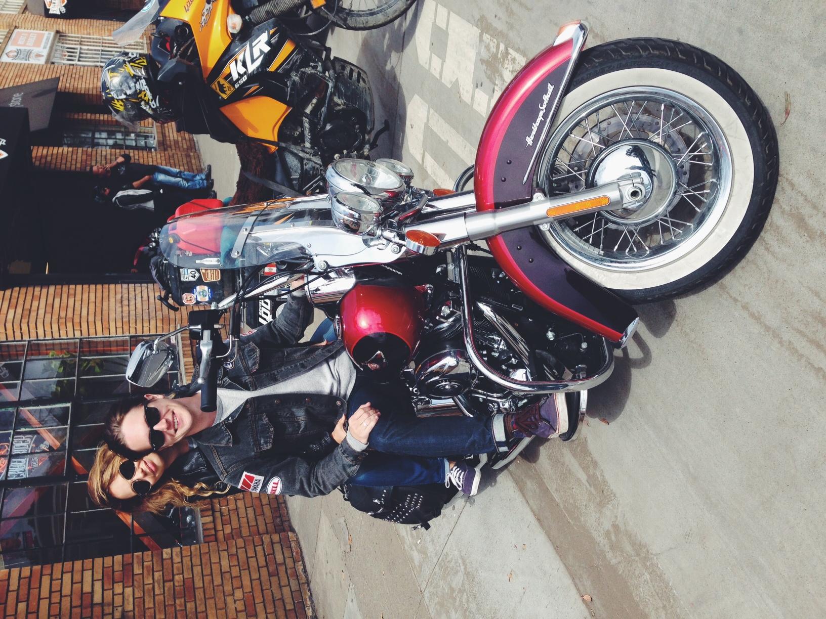 We got a Harley Davidson Heritage Softtall