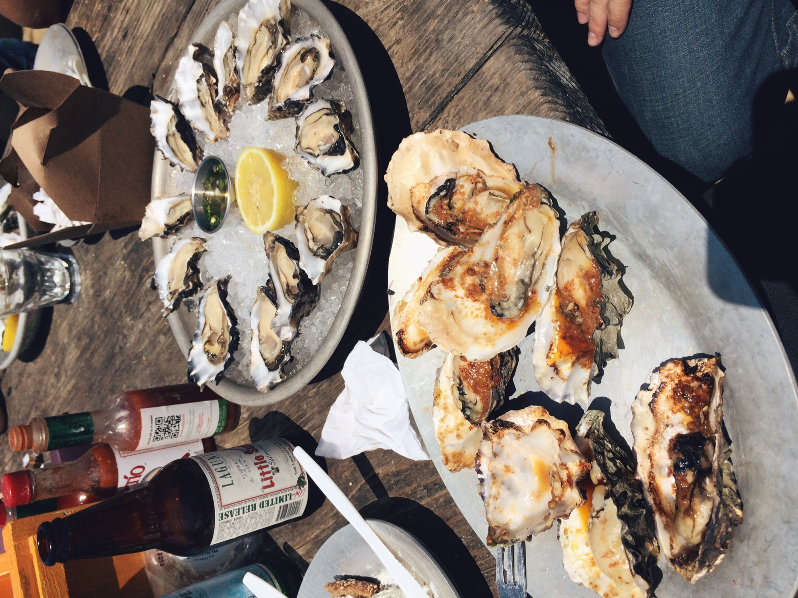 I wasn't always a fan of West Coast oysters but I was obviously misguided on what to order. Definitely get an order of the BBQ oysters and pair it with a glass of their Riesling. The sweet and salty go well together. We also ordered some of their local cheese and bread plate. If you can't make it to this location they have a few locations in San Francisco.