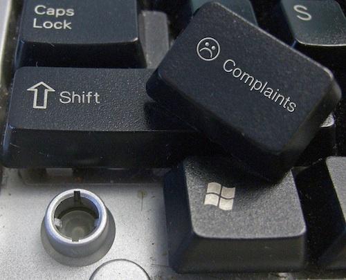 complaints computer key