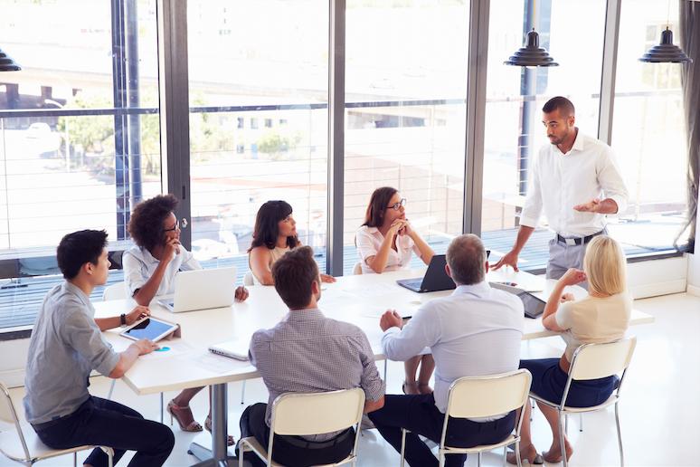 office team meeting