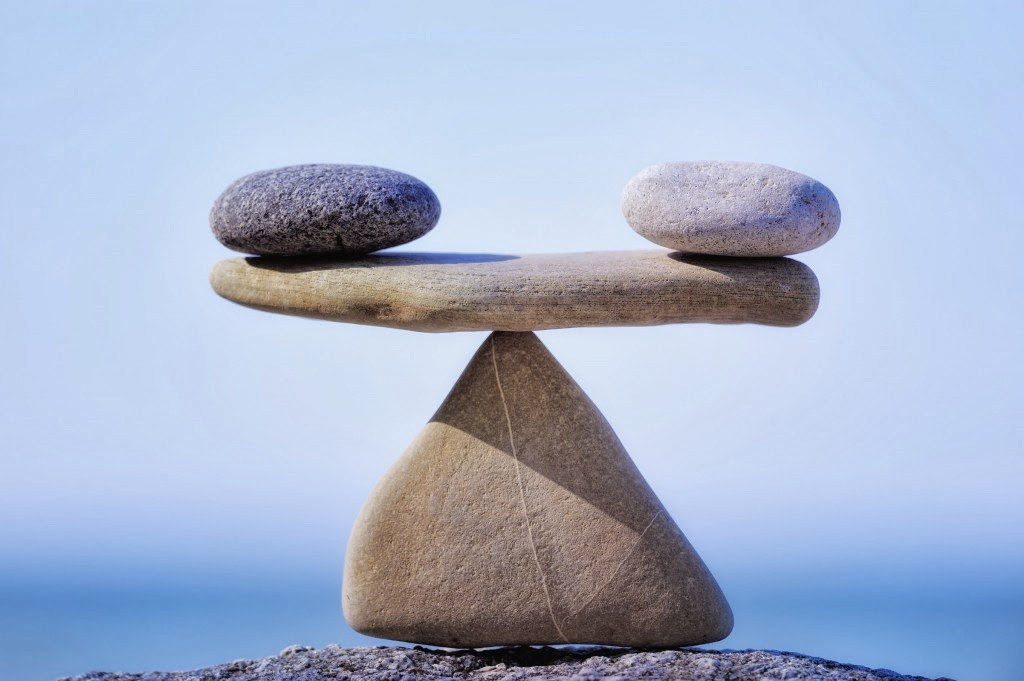 work life balance stones