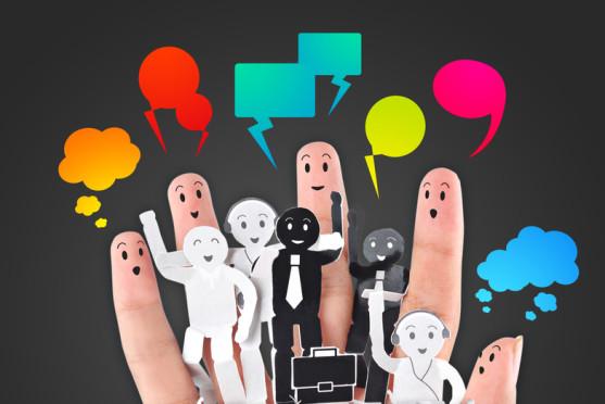 conversational bubbles