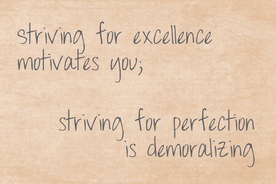 perfection quote