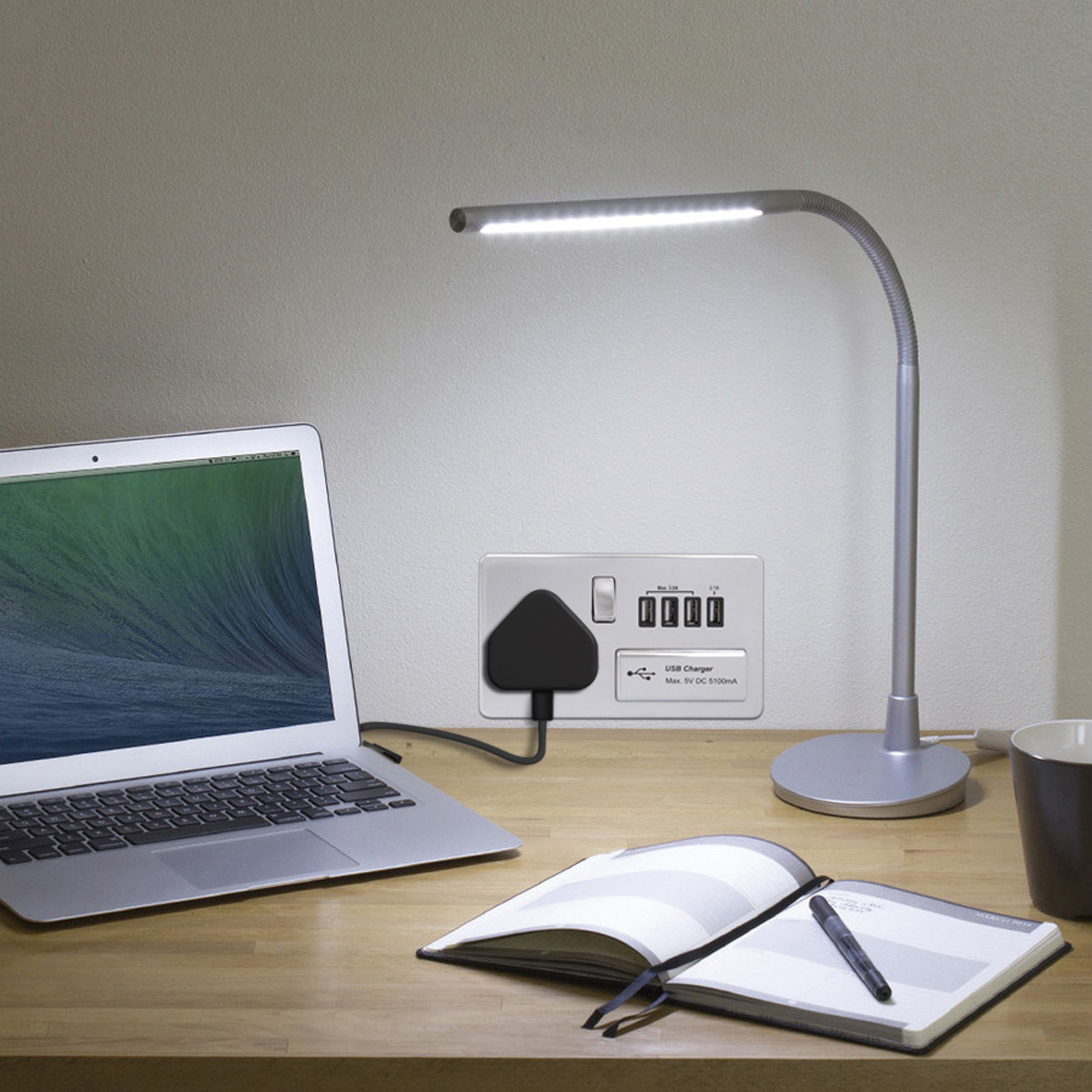 home office power outlets