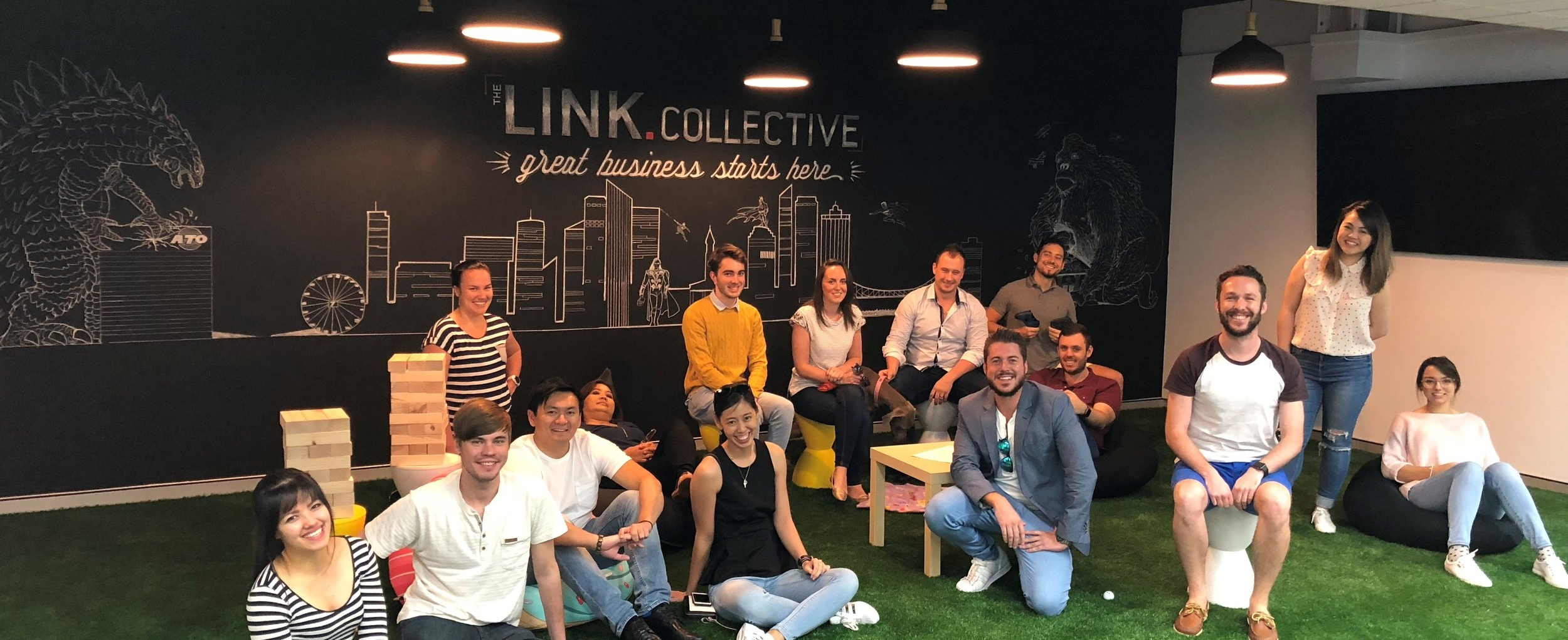 link collective team shot