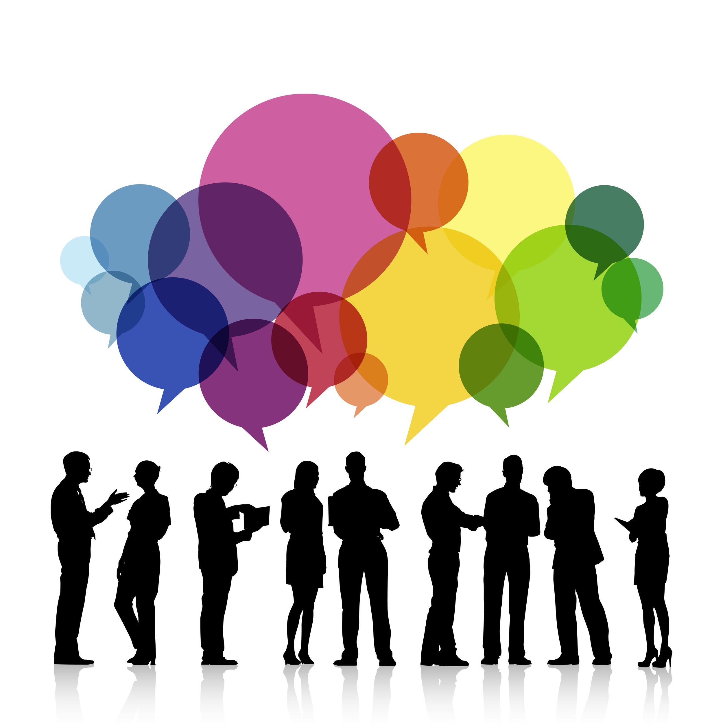 communication bubble