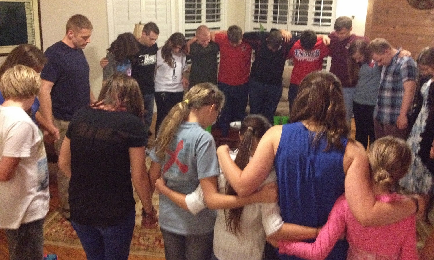 Monthly Devotional   - Once a month, our middle school and high school students gather for a devotional time in the home of one of our members. They share a meal together, sing songs of praise, and hear a short devotional message from one of the young men.
