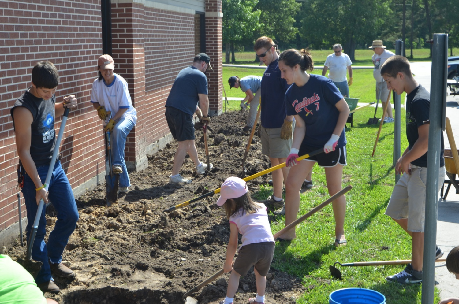 Service Projects   - Once a month, our families work together on service projects to spend time focused on the needs of others.