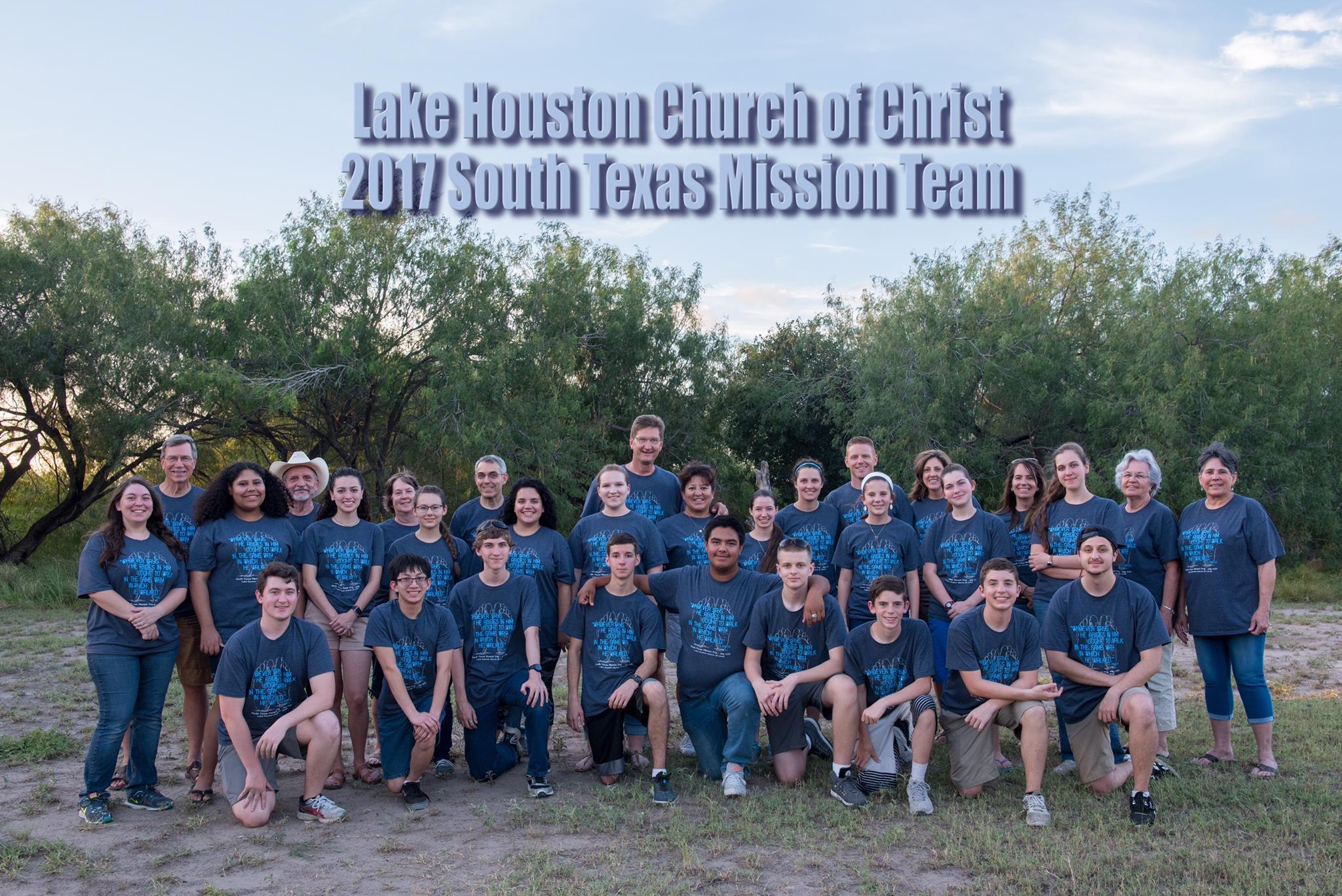 South Texas Mission Trip 2017