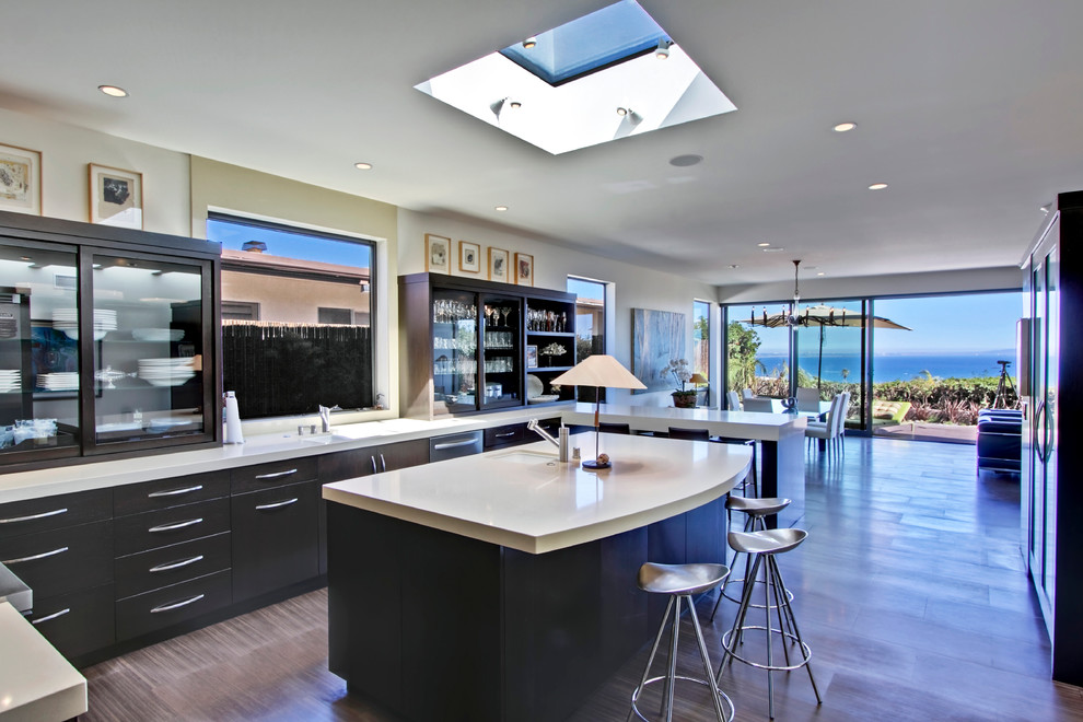 Malibu Contemporary Home Remodel Kitchen
