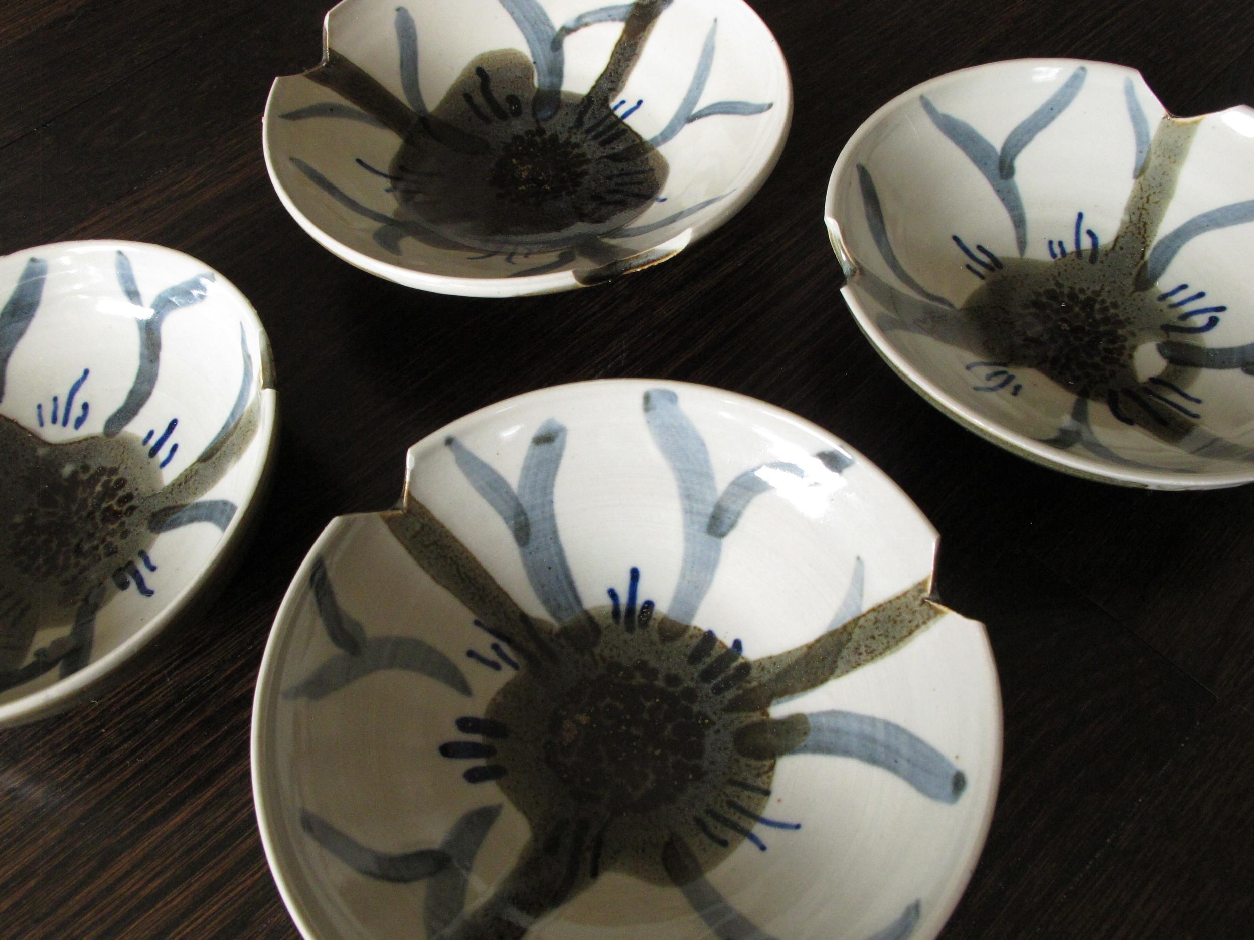 Flooded flower bowls.