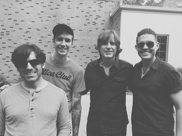 Mike, Corey, Jody Stephens & Me.  Photos by  Rosie Cohe