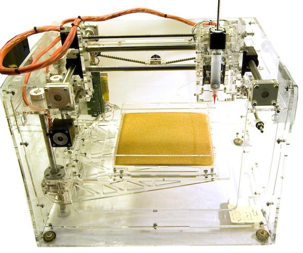 Professor Dosier's Bio-Brick Printer let's bacteria do the grunt work.