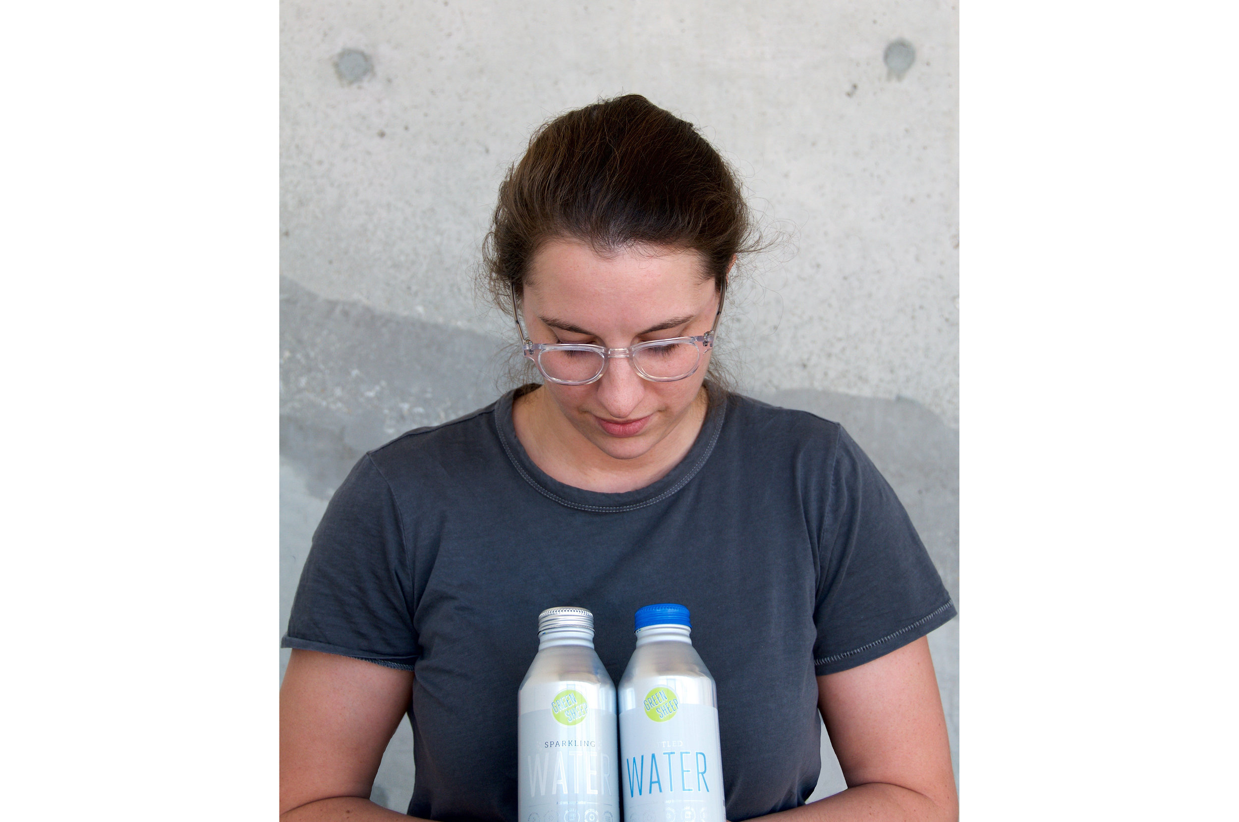 Jess Page Green Sheep Water Founder