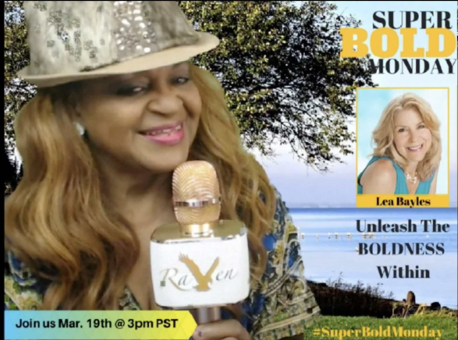 Talk Show Maven Live TV: Super Bold Monday Season 1 Episode 6 with Lea Bayles