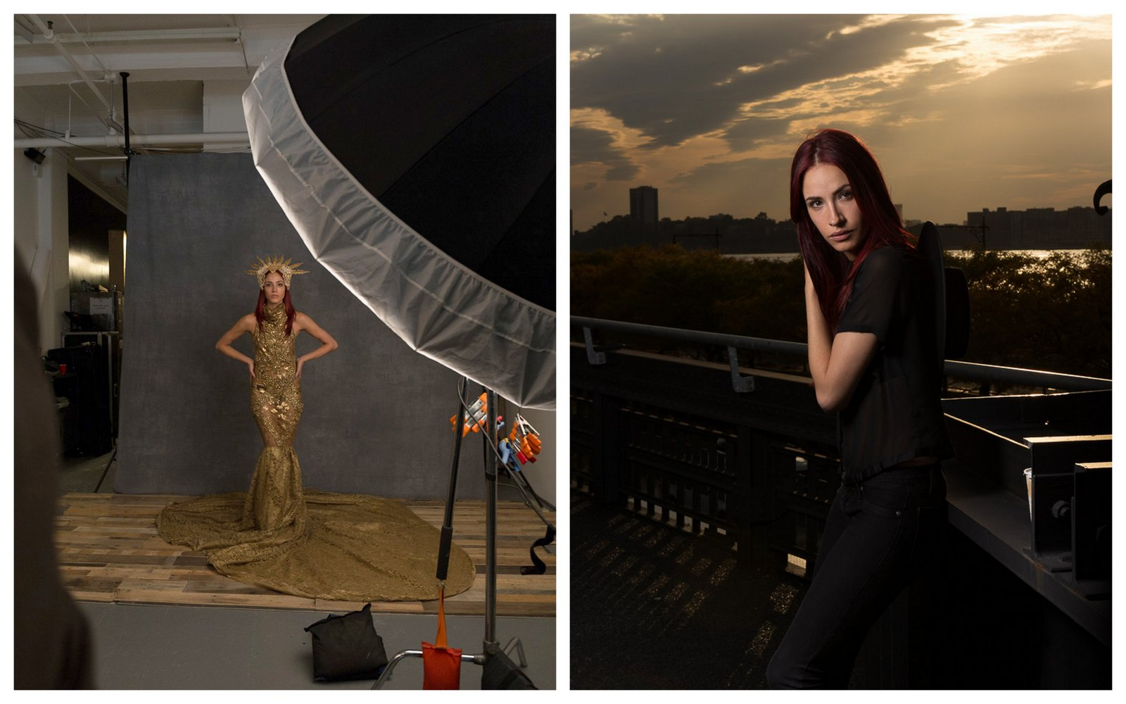 Images I took during a class with fashion photographer Lindsay Adler