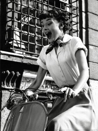 "Hepburn in ""Roman Holiday"" Photo: IMDb"