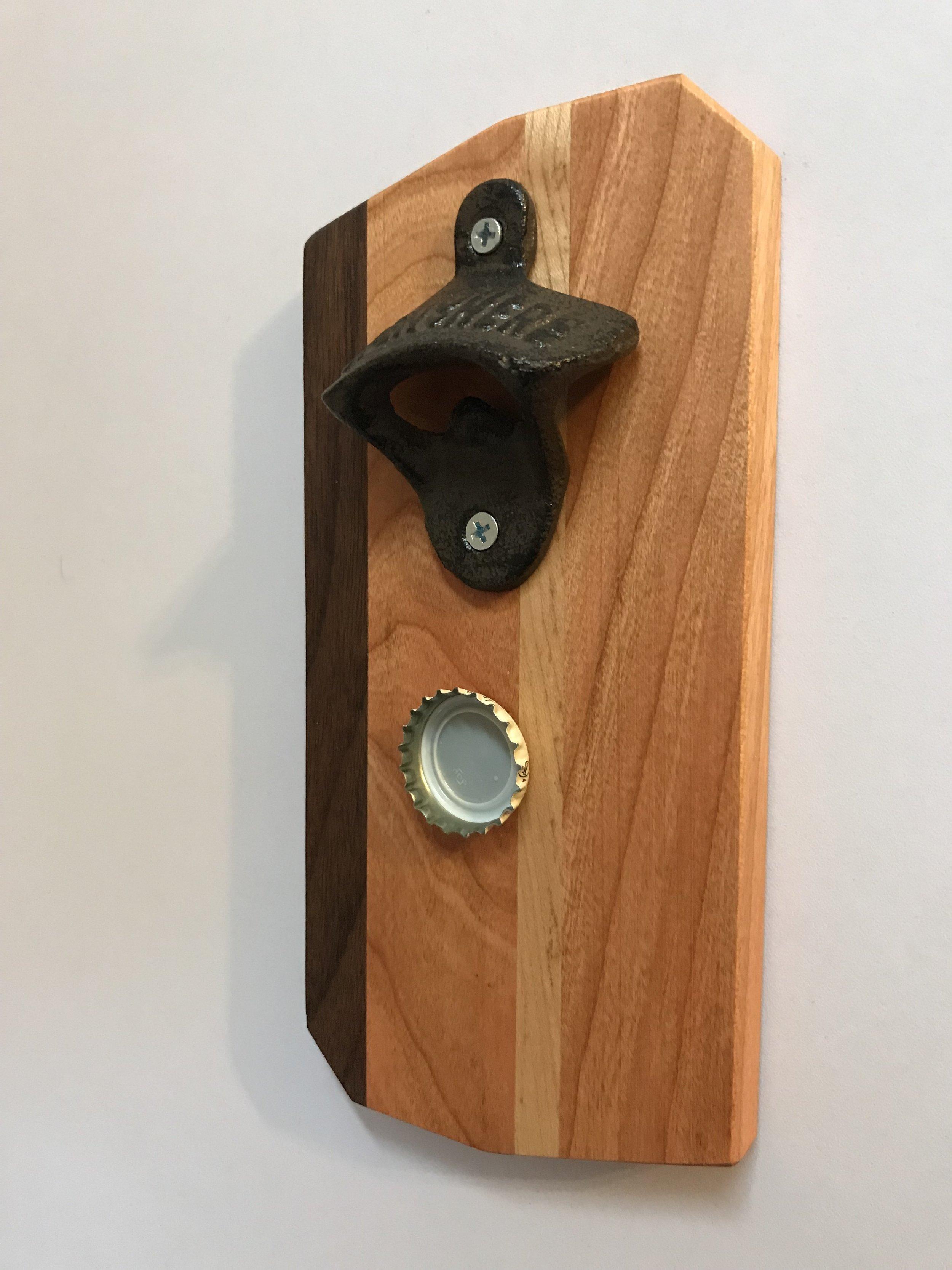 Image of: Wall Mounted Bottle Opener Sam Falco Design