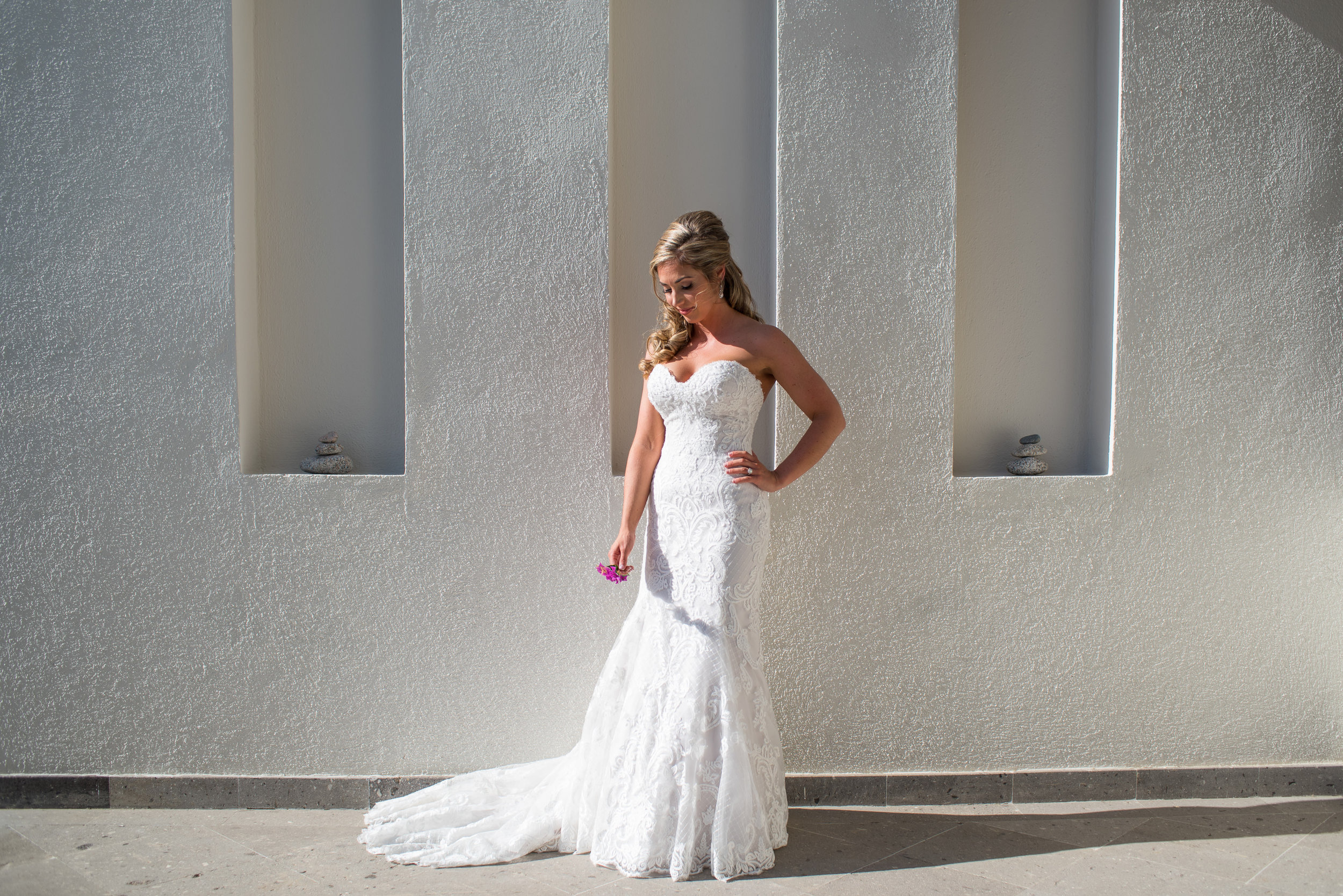 Bride Portrait At the Pedregal