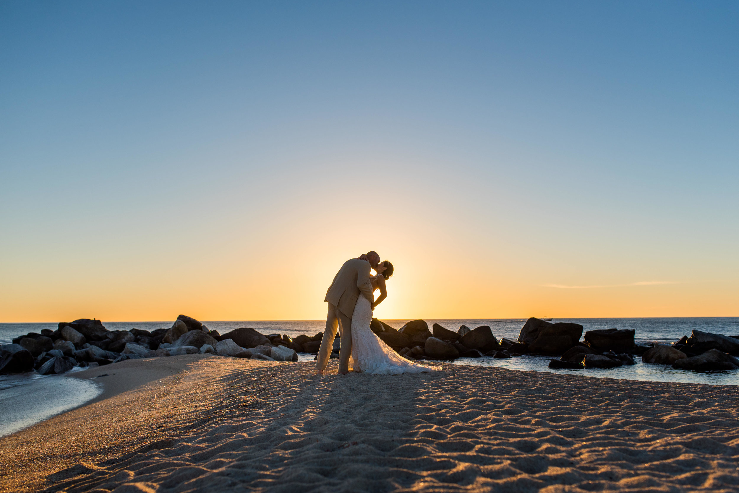 Bride And Groom Sunrise Photo Session