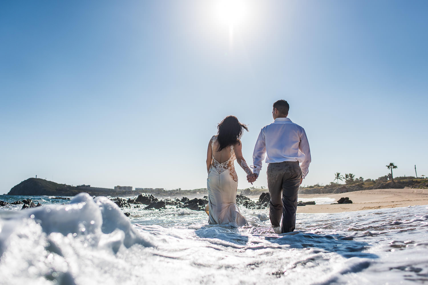 trash the dress Los Cabos