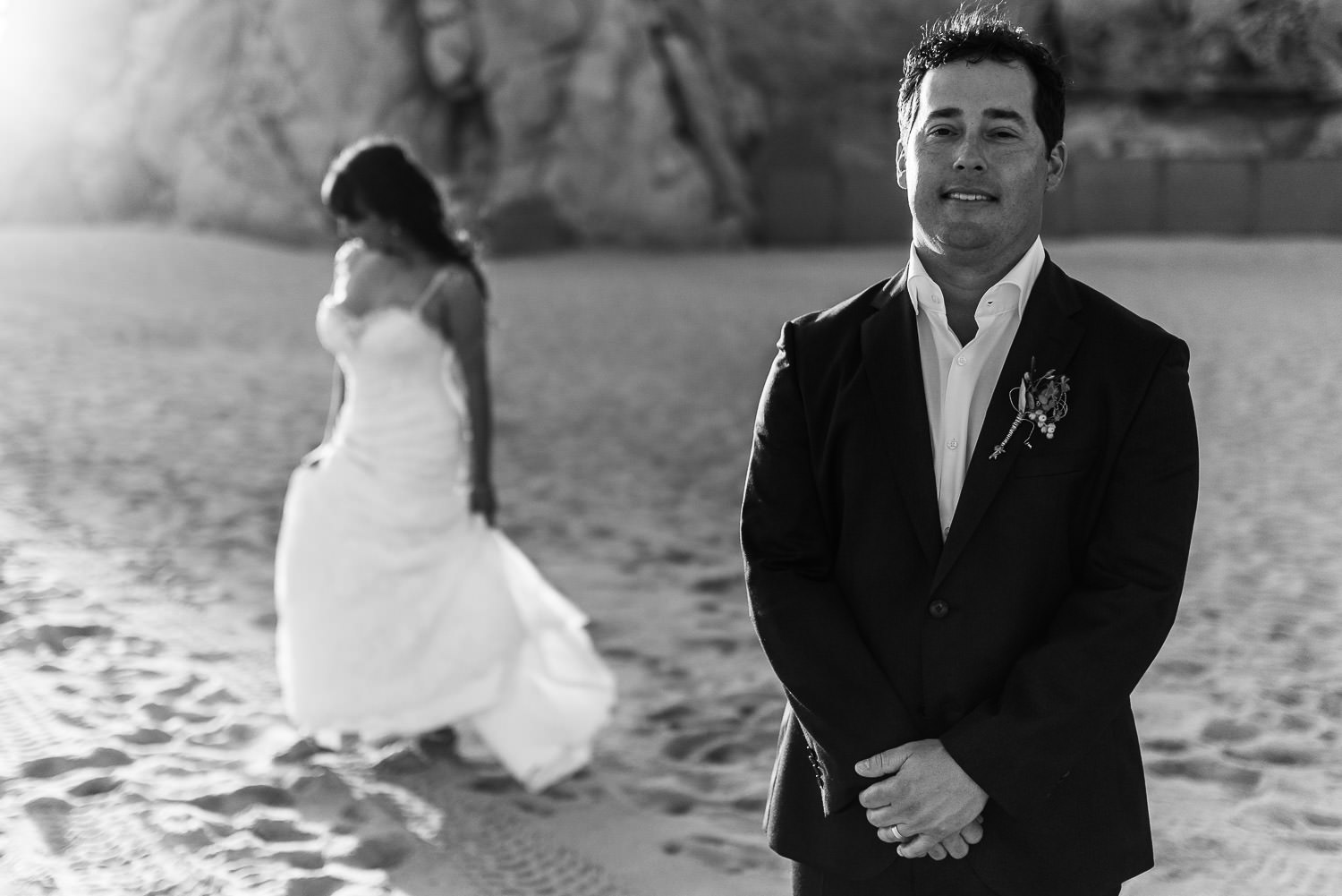Cabo San Lucas wedding at Villa Lan´s End. Celina and Derek