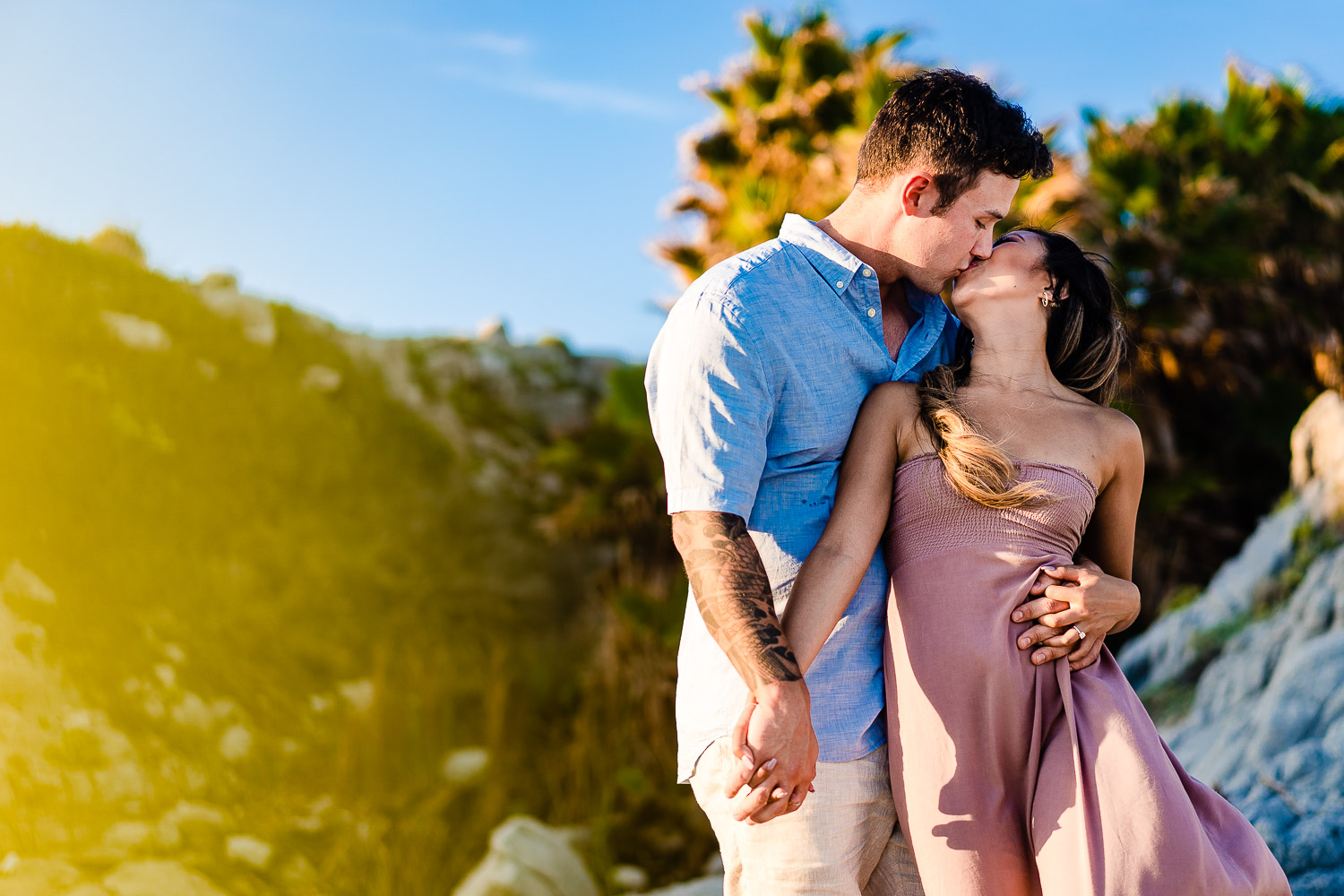 Soon to be married couple have an afternoon photo session with Los Cabos photographer Gonzalo Verdeja