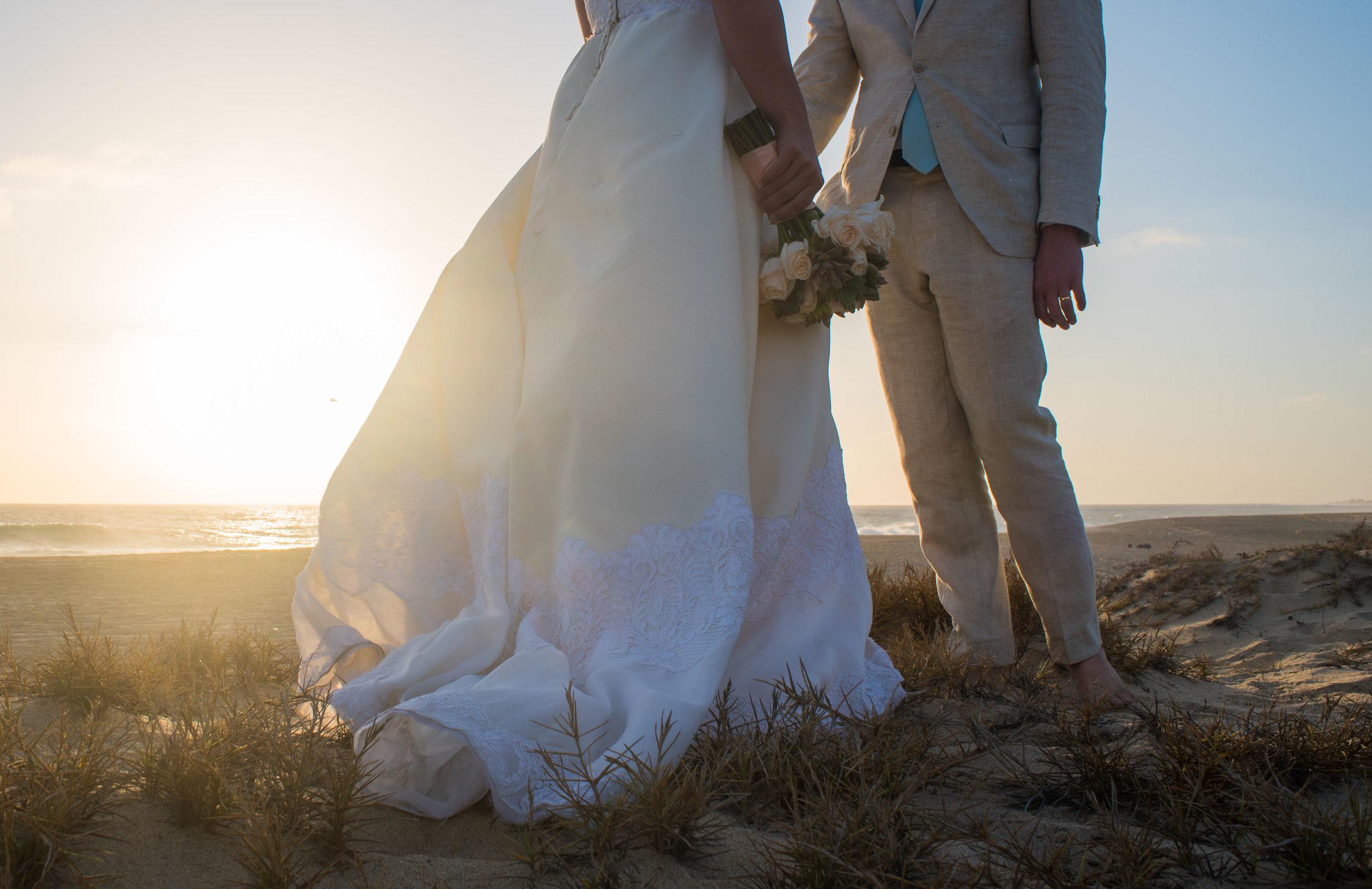 Sunset Session for a Todos Santos, Baja California bride and groom