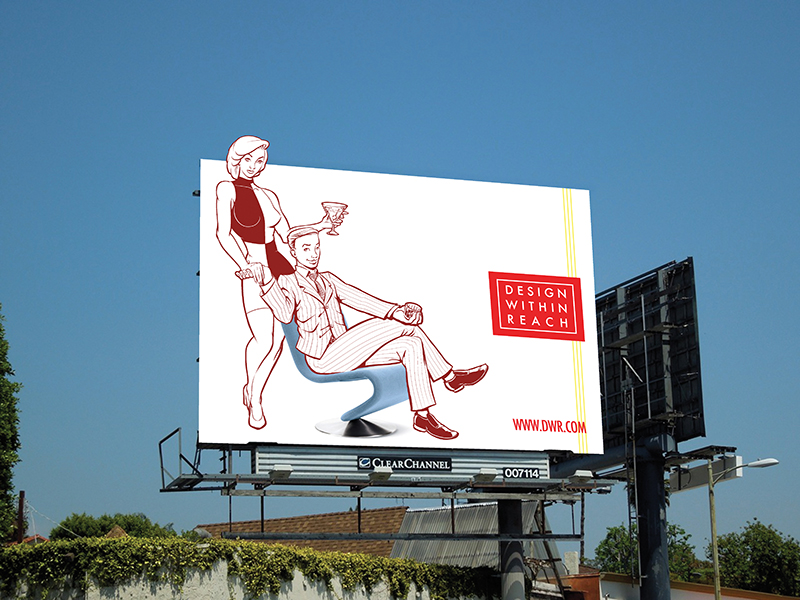 Ad Campaign - Design Within Reach