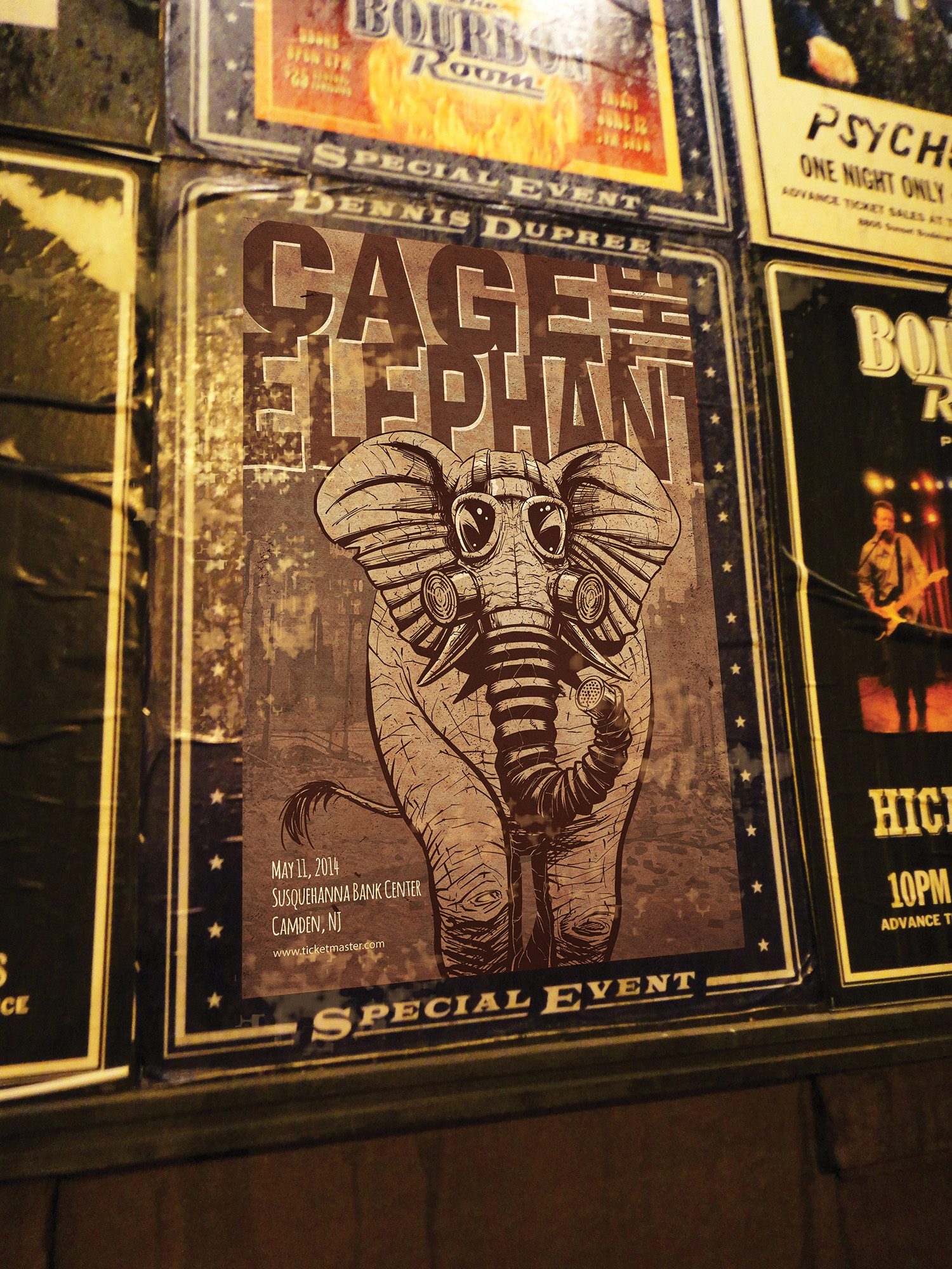 Poster Design - Cage The Elephant