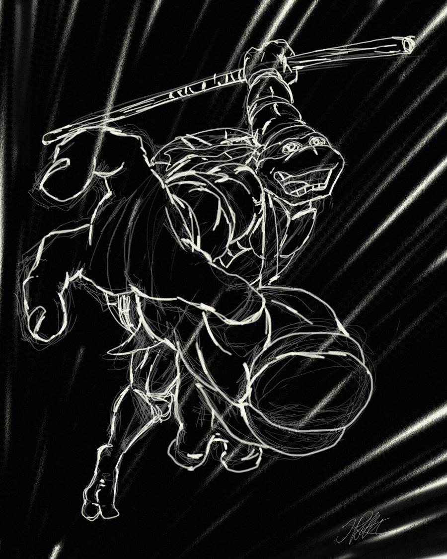 Digital Illustration - TMNT Fan Art